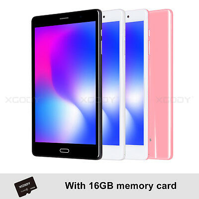 """XGODY 8"""" Android 6.0 IPS 32GB Quad-core Tablet PC 4G LTE Type-c GPS Phablet"""