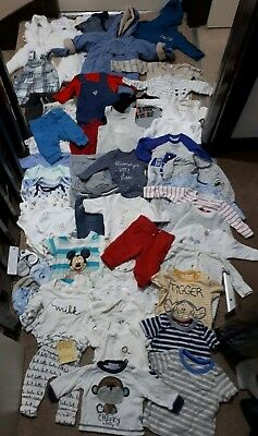 e00866b99 HUGE BUNDLE OF Baby Boy Clothes 0-3-6months  548 NEXT VERY GEORGE ...