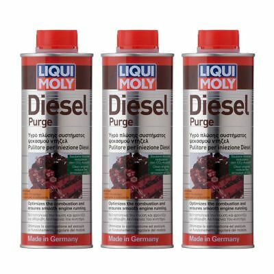 3 x Liqui Moly Diesel Purge 500ml - 1811 - Diesel Injector Cleaner CAR FUEL