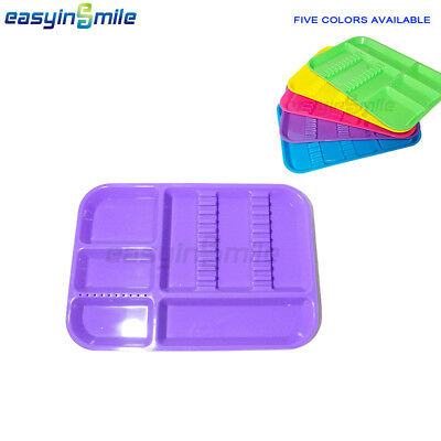 Easyinsmile 1Pc Dental Divided Tray Autoclavable Separate Instrument Container