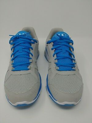 Men's UNDER ARMOUR Micro G STRIVE 6 light grey/baby blu Running Casual Shoes