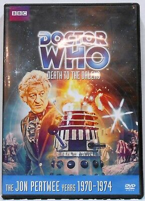 Doctor Who DEATH TO THE DALEKS Story No. 72 DVD 2012 Jon Pertwee R1
