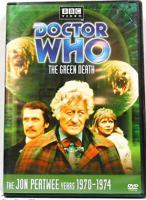 Doctor Who  The Green Death  Story 69  DVD Jon Pertwee - R1