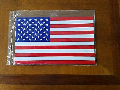 3 PACK American Flag  Magnet - 4 X 6  Weather & UV Resistant from Flexible...