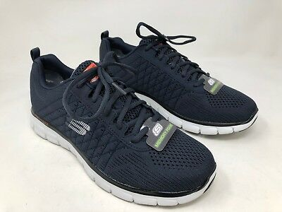 NEW MEN'S!! SKECHERS Gray Burst Memory Foam SportTrain