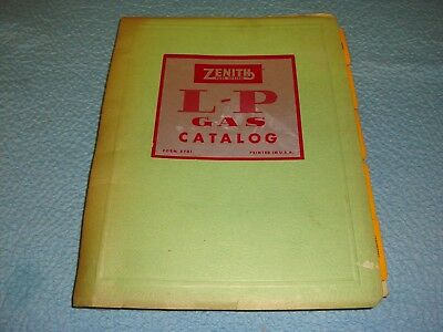 Zenith Carburetor Manual - L-P Gas
