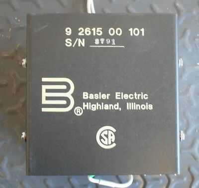 Basler Electric Radio Frequency Interface Filter 9261500101 9 2615 00 101