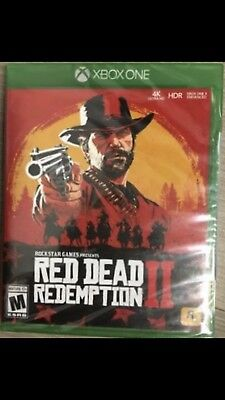 NEW Red Dead Redemption 2 II Microsoft Xbox One Factory Sealed 2018