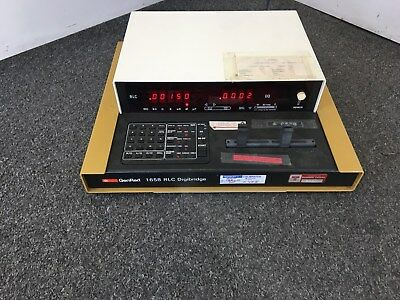 GENRAD 1658 RLC Digibridge General Radio Tested Working