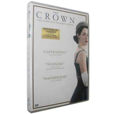 The Crown: Season Two (DVD, 2018, 4-Disc Set) TV Series New Sealed US Seller