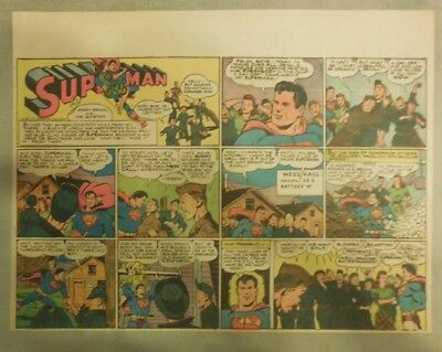 Superman Sunday Page #229 by Siegel & Shuster from 3/19/1944 Half Page:Year