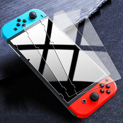 For Nintendo Switch Console PREMIUM TEMPERED GLASS 3 Pack Screen Protector Cover
