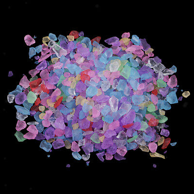 20g Colourful Crystal Sand 3 - 5 mm Home Wedding Mosaic Garden Decorations