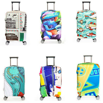 High Elastic Travel Luggage Cover Suitcase Dustproof Cover Protector Case Bag