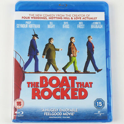 The Boat That Rocked (Blu-ray, 2009) - Brand New Sealed