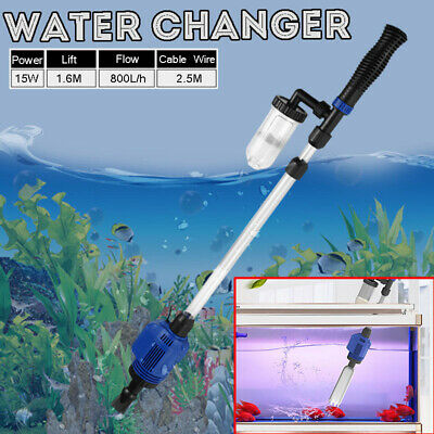 Aquarium Gravel Cleaner Electric Water Changer Fish Feces Sand Washer Fish Tank