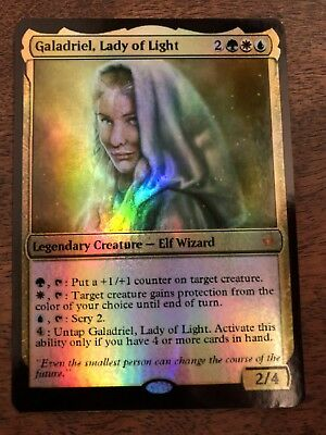 Galadriel Light Lady Magic The Gathering MTG Planeswalker Lord Of The Rings LOTR