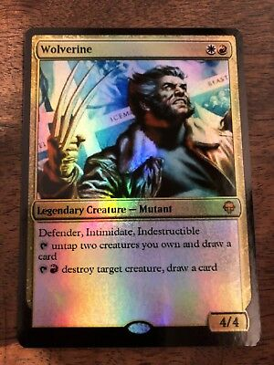 Wolverine Professor X Marvel Magic The Gathering MTG card Planeswalker Stan Lee