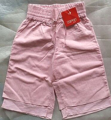 GIFT Age 4 Size 4 ESPRIT Unique Cute pants with Silver threads RRP $39.95 Pink