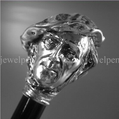 Walking Stick 925 Silver - Wagner - 925 Sterling Silber Spazierstock