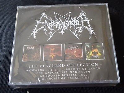 Enthroned - The Blackend Collection (NEW 4 x CD) HECATE PROPHECIES OF PAGAN FIRE