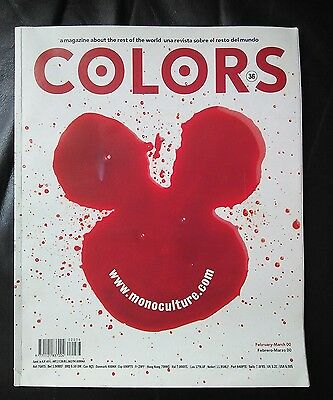 Colors Magazine #36  February- March 2000 Spanish/english