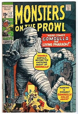 Monsters on the Prowl #12, Very Fine - Near Mint Condition