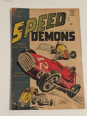 Speed Demons #8 Charlton Comics 1957 VG-