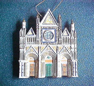 Cathedrals Of The World Christmas Ornament  Cathedral Of Siena