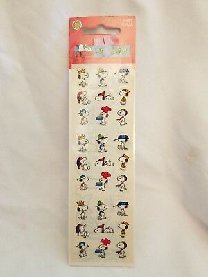 Sandylion Peanuts Prismatic Stickers 1 sheet Snoopy