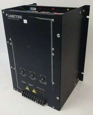 Ametek Shpf3-480-120-Cl-01-18 Power Control System 480V, 3Ph, 60Hz,120A, 2099157