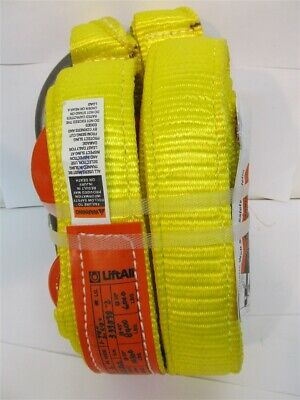 """Lift-All DOSEE2-802, 2"""" x 7'8"""" and 6'8"""" Legs, 2 Leg Polyester Bridle Sling"""