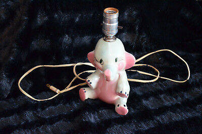 Children's Elephant Lamp Totline Issue 11342 Pink and Blue