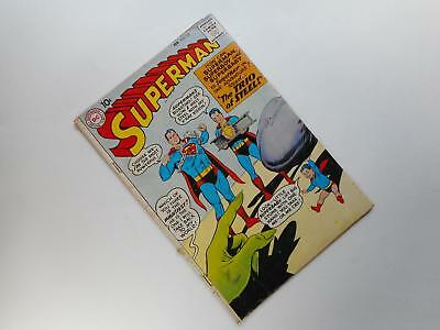 Superman #135  G/vg 3.0 (Dc 1939 Series) Trio Of Steel Cover