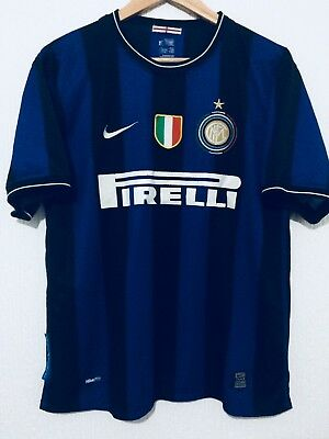 NOME+NUMERO UFFICIALE FC INTER 2007-2009 HOME//AWAY OFFICIAL NUMBERS PLAYER SIZE