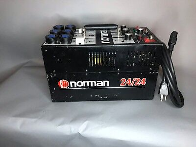Norman 24/24 2400ws Power supply with power cord