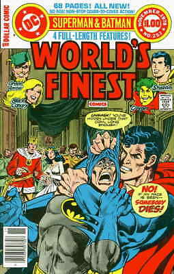 WORLD's FINEST COMICS #253, Wraparound, Jim APARO Cover, VF (1978) DC Comics