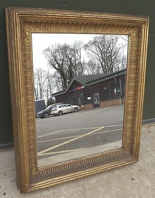Antique Style Gilt-Framed Wall Mirror in a Vintage Frame (78cm x 67cm)