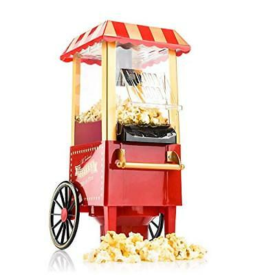 Gadgy ® Machine à Pop Corn | Retro Popcorn Maker | Air Chaud Sans Gras Huile