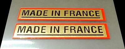 Made in France Bicycle Decals for Peugeot 1 Pair sku Fran902