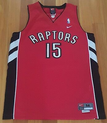 uk availability 8f20a d9946 VINCE CARTER TORONTO Raptors NBA Jersey Medium Nike NBA