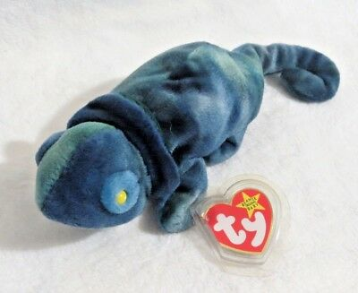 d7f6cf50ced TY Beanie Baby - 1997 Rainbow The Chameleon 9 in - NEW WITH TAGS FREE