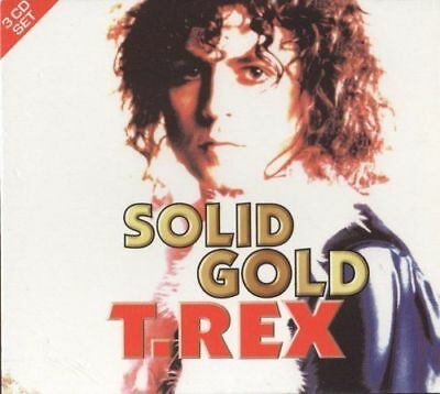 SOLID GOLD T.REX - THE DEFINITIVE COLLECTION - 3 CD set -  NEW   {CD}
