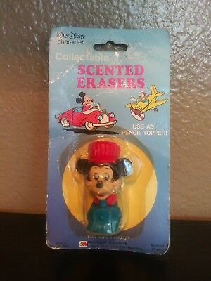 Walt Disney CHARACTER scented erasers Pencil Topper by monogram products