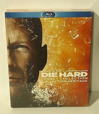 Die Hard Legacy Collection (Blu-ray Disc, 5-Disc Set) 5 movies Bruce Willis