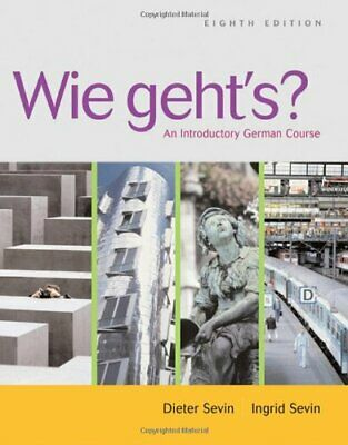 Wie geht's?: An Introductory German Cour... by Sevin, Ingrid Mixed media product