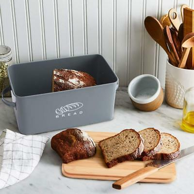 """Bread Bin Bread Storage Container Bread Crock with Bamboo Lid 12"""" x 6.7"""" x 5.7"""""""
