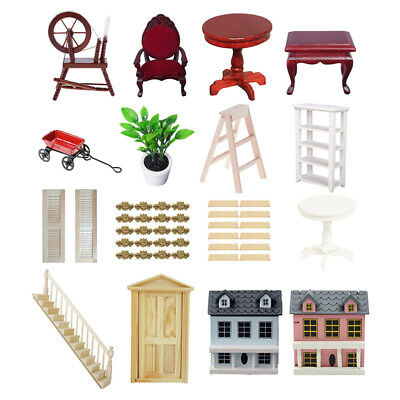 Various Mini Doll House Furniture Accessories for 1:12 Dollhouse Miniatures UK