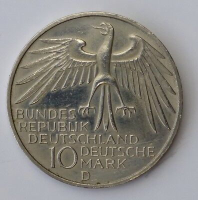 1972 D German 10 Marks Olympic Games