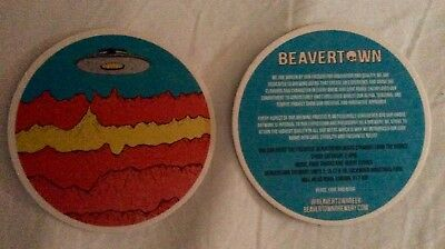 4x Beavertown Brewery Beer Mats Coasters 2018 Brand New